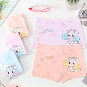 5-piece Pattern Underwears for Toddler Girl