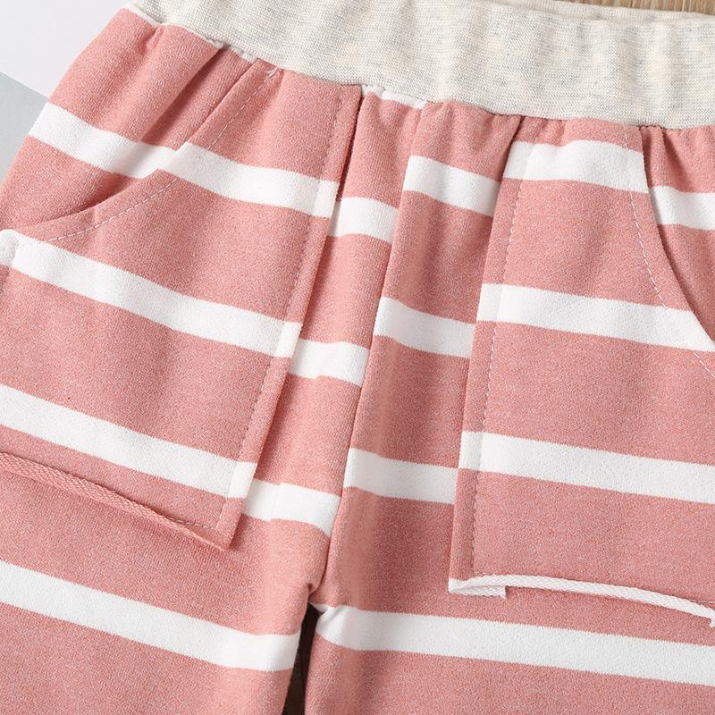 2-piece Stripes Hoodie & Pants for Baby