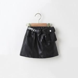 PU Skirts for Toddler Girl