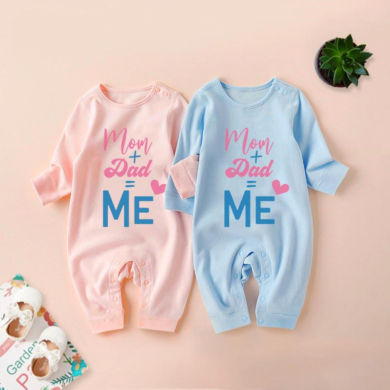 Letter Pattern Jumpsuit for Baby