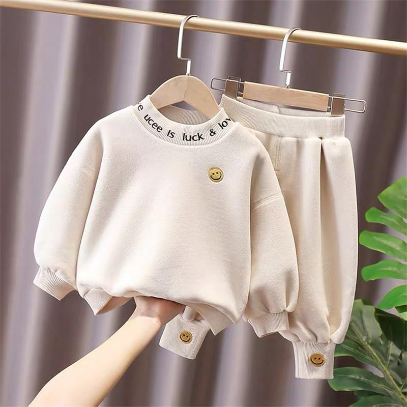2-piece Extra Thick Sweatshirt & Pants for Toddler Boy