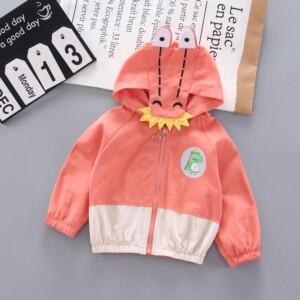 Dinosaur Pattern Coat for Toddler Boy