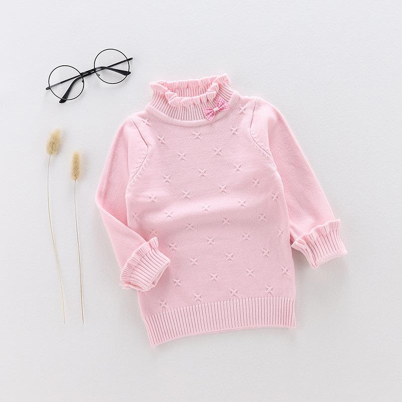 Bowknot Sweater for Toddler Girl