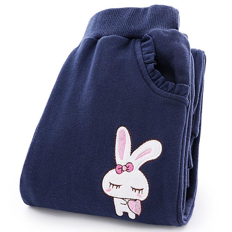 Rabbit Pattern Sports Pants for Girl