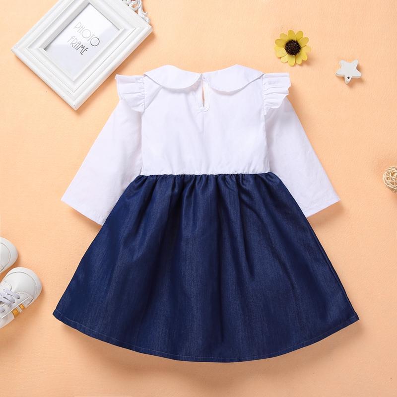 Preppy Style Dress for Toddler Girl