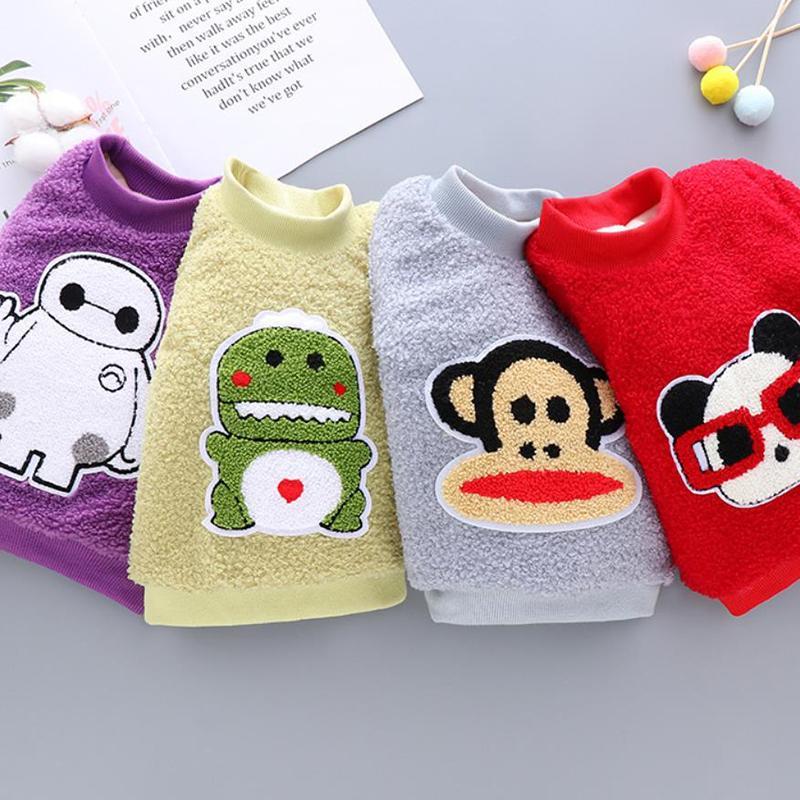 Animal Pattern Fleece Sweatshirts for Toddler Girl