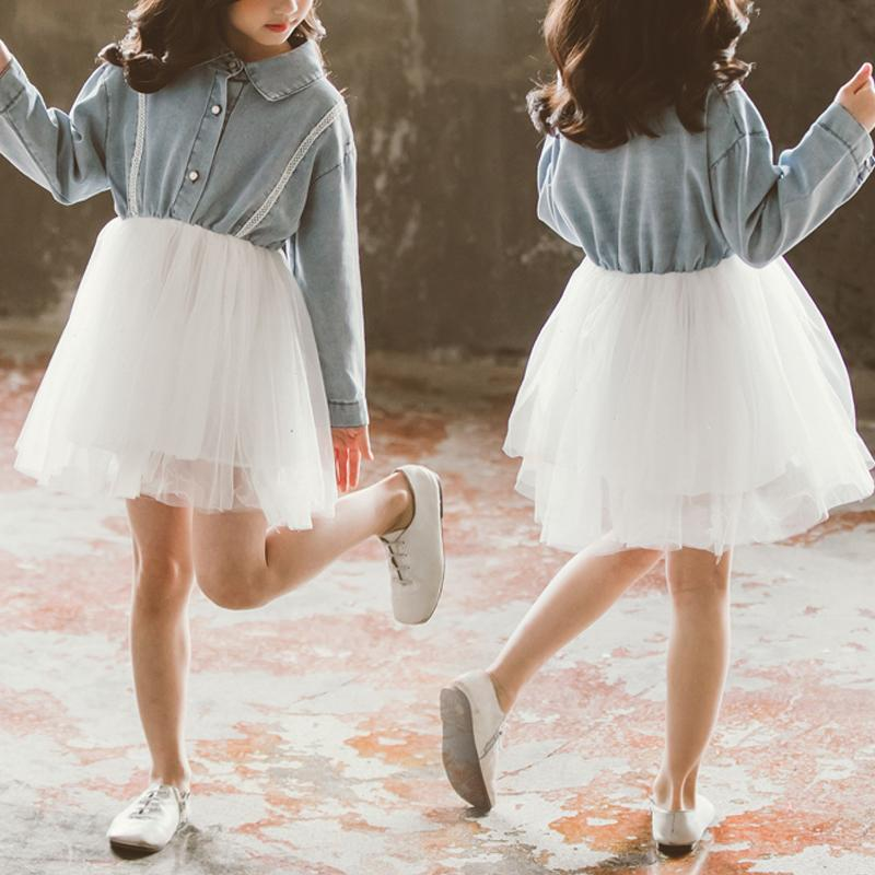 Denim Dress for Girl