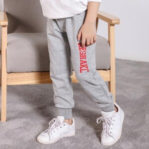 Letter Pattern Sports Pants for Boy