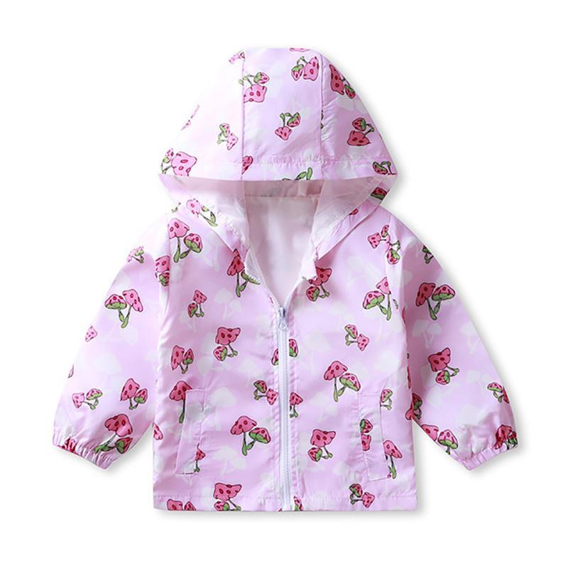 Hooded Coat for Toddler Girl