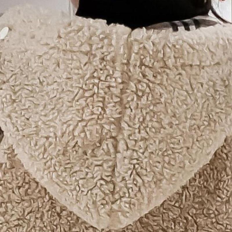 Fleece-lined Puffer Jacket for Girl