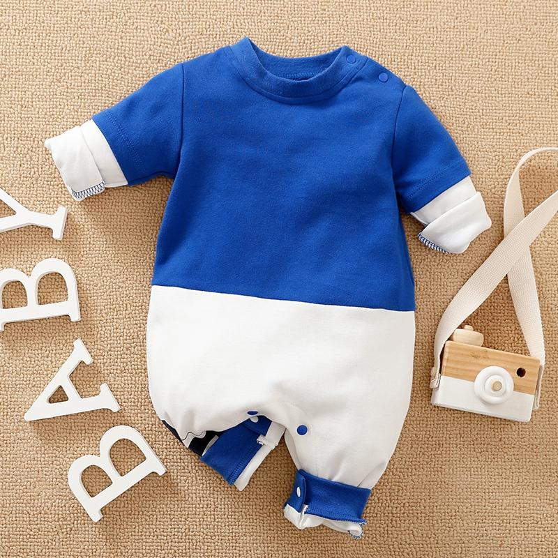 Color-block Jumpsuit for Baby Boy