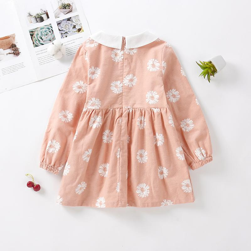 Floral Pattern Dress for Girl