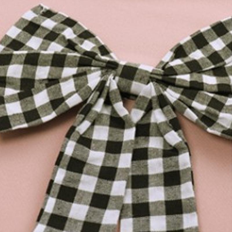 2-piece Bowknot Shirts & Pants for Girl