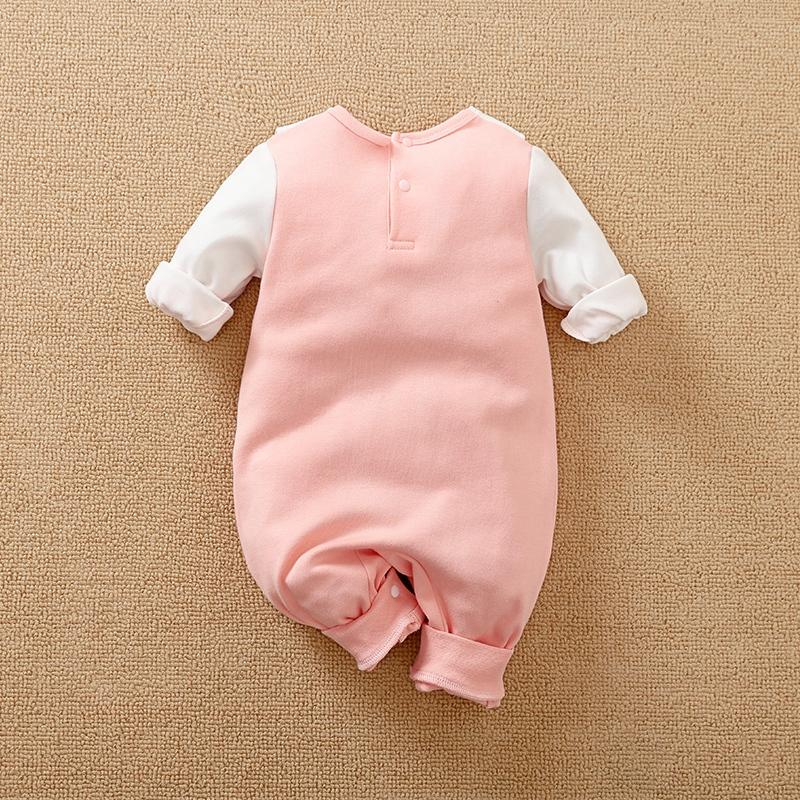 Swan Pattern Jumpsuit for Baby Girl