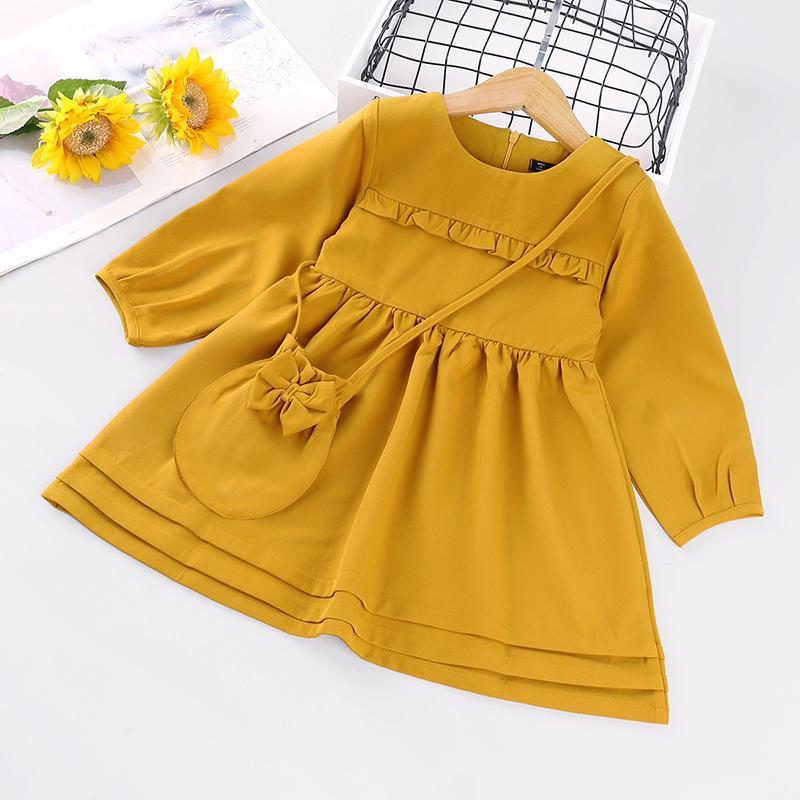 Ruffle Dress & Packet for Toddler Girl