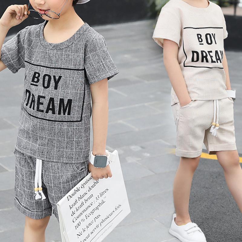 Letter Printed Set for Boy