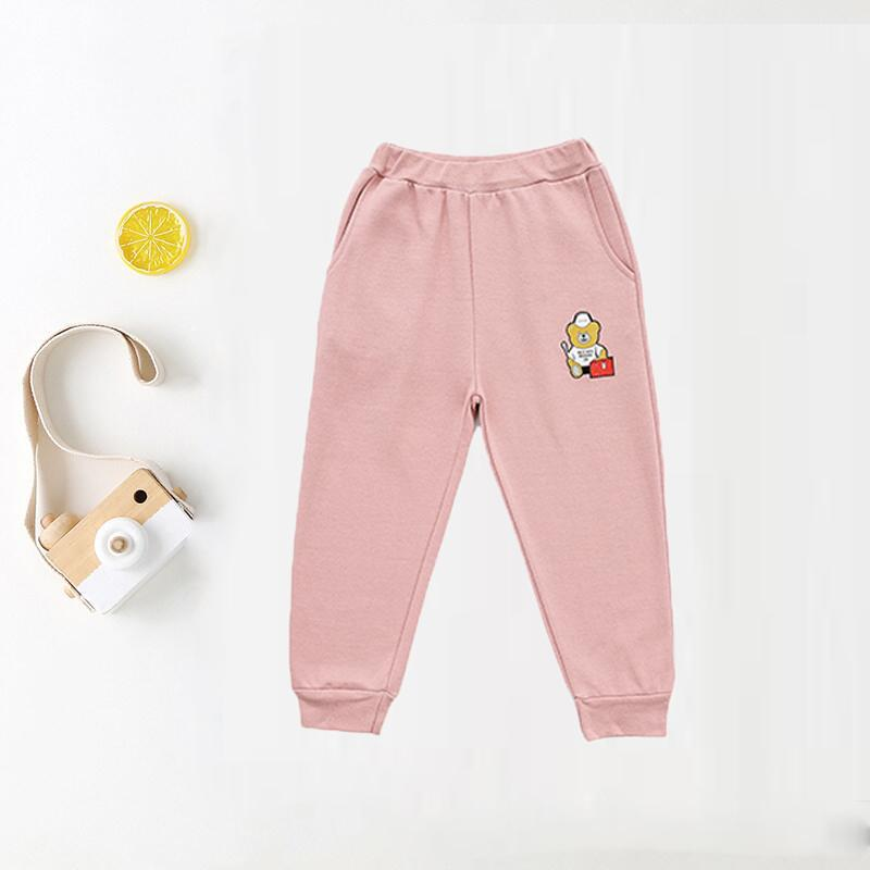 Spring Cartoon Sports Pants for Girl