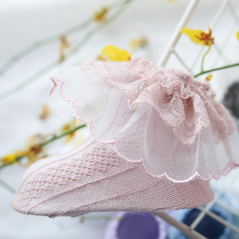 Sweet Lace Mesh Socks