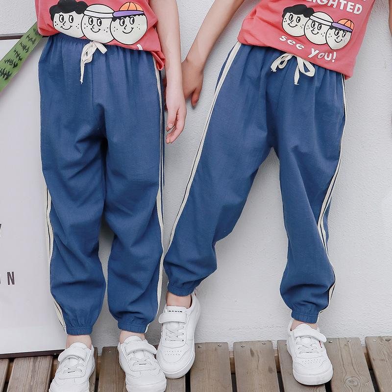 Stripes Casual Pants for Boy