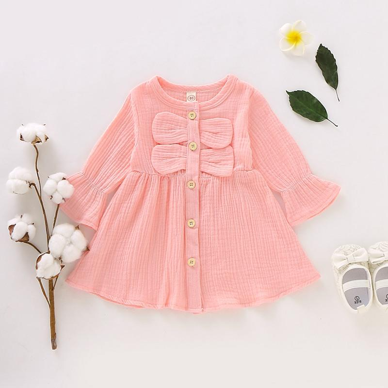 Solid Princess Dress for Baby Girl