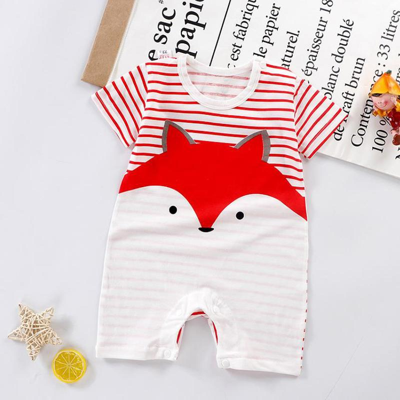 Fox Pattern Bodysuit for Baby