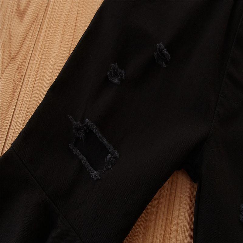 Denim Flared Pants for Toddler Girl