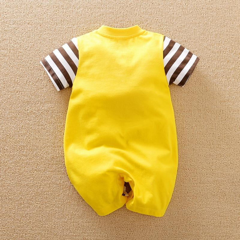 Animal Giraffe Pattern Bodysuit for Baby