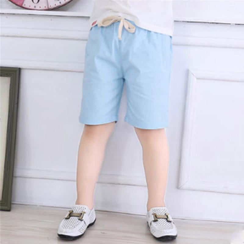 Solid Shorts for Toddler Boy