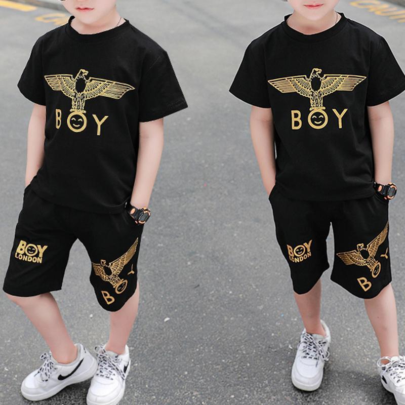 2-piece Animal Pattern T-shirt & Shorts for Toddler Boy