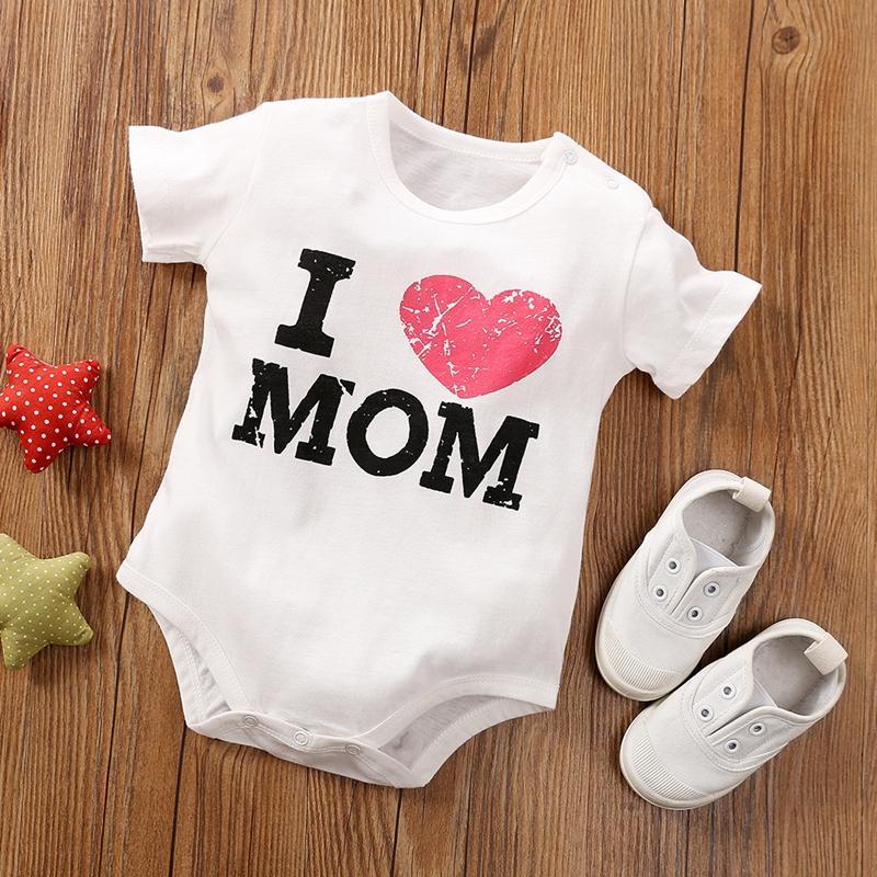 Baby Cute Heart Pattern Romper