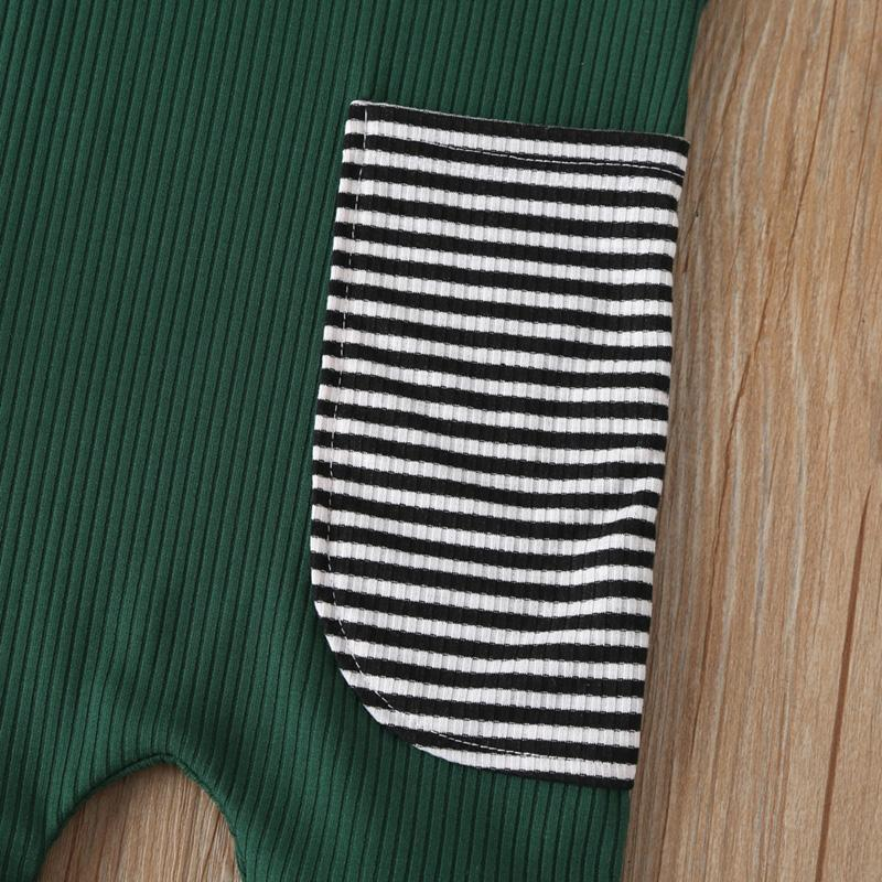 Striped Sleeveless Jumpsuit for Baby Boy