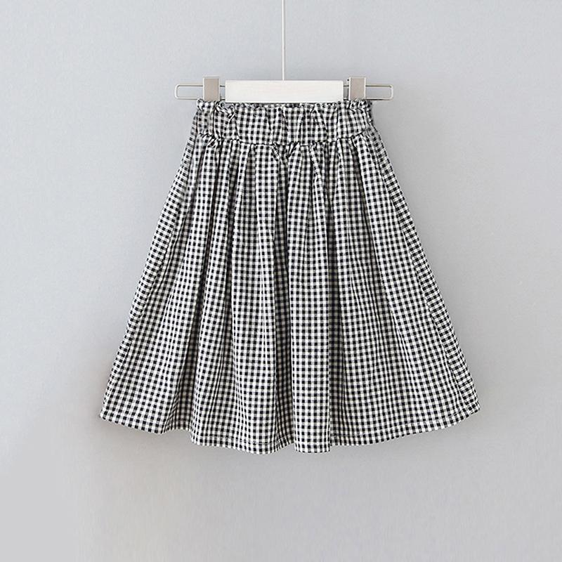 Plaid Pleated Skirt for Girl