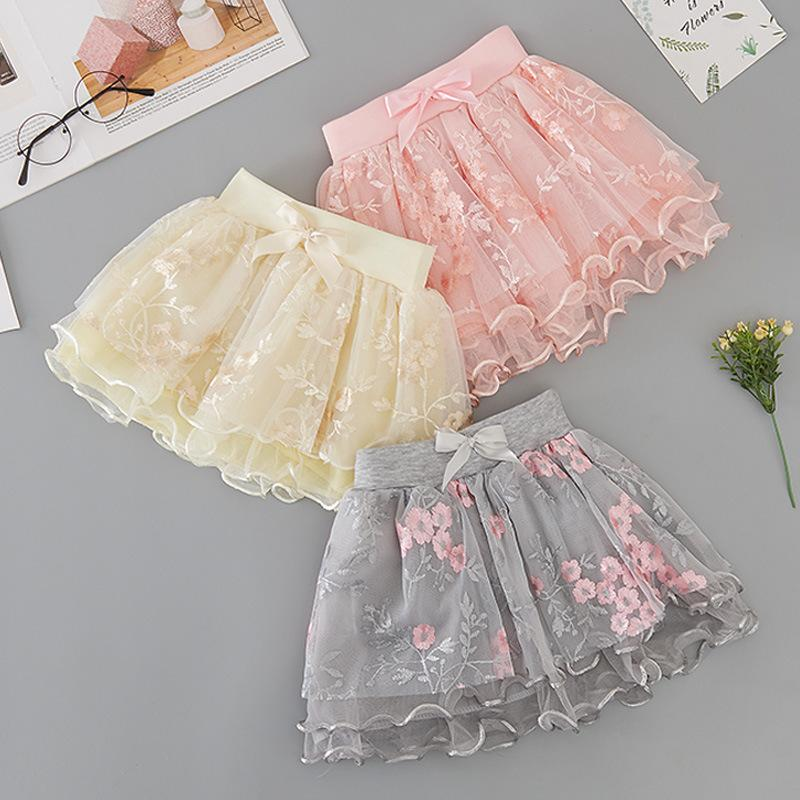 Sweet Floral Printed Skirt for Toddler Girl