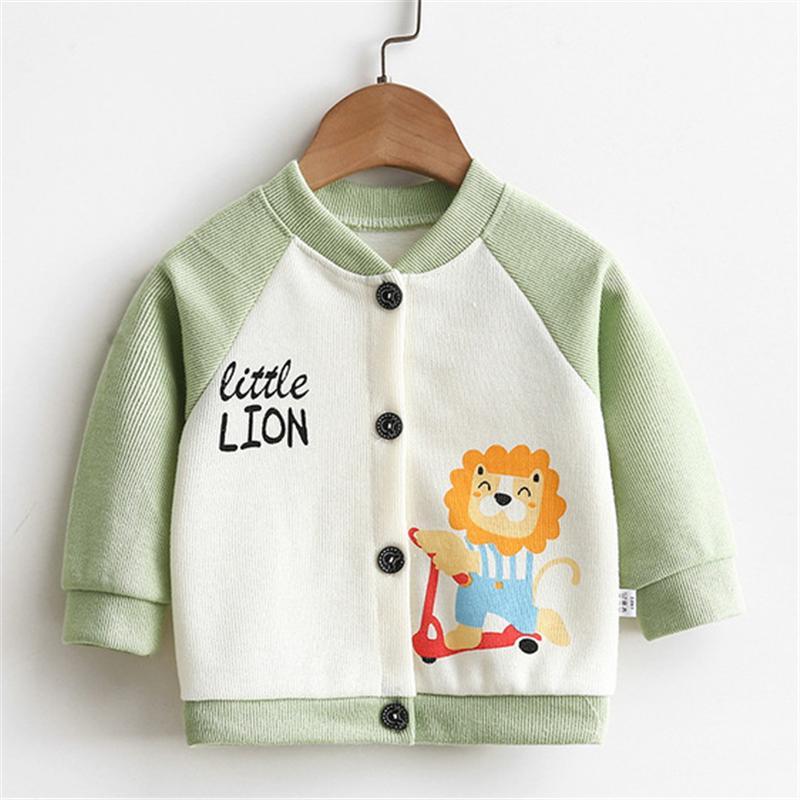Bear Pattern Coat for Toddler Boy