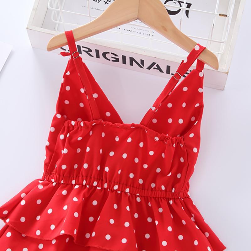 Polka Dot Dress for Toddler Girl