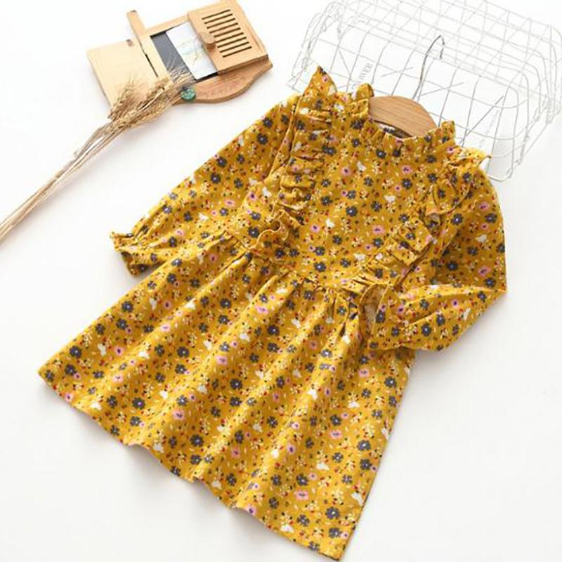 Floral Dress for Toddler Girl