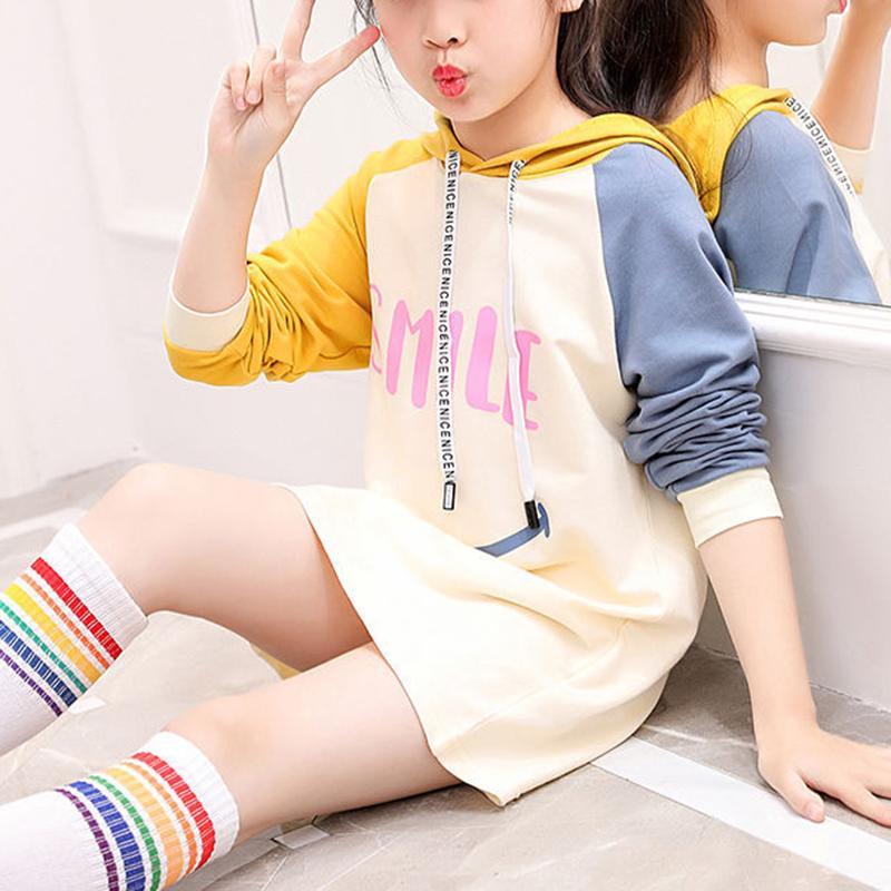 Color-block Hoodie for Girl