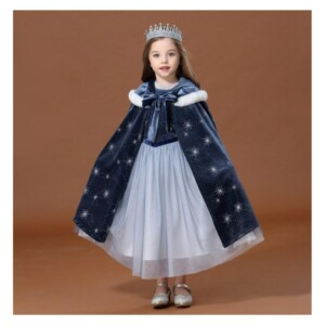 2-piece Cosplay Dress & cloak for Toddler Girl