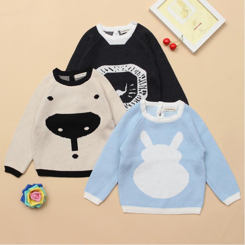 Cartoon Pattern Sweater for Toddler Boy