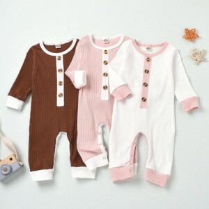 Color-block Jumpsuit for Baby