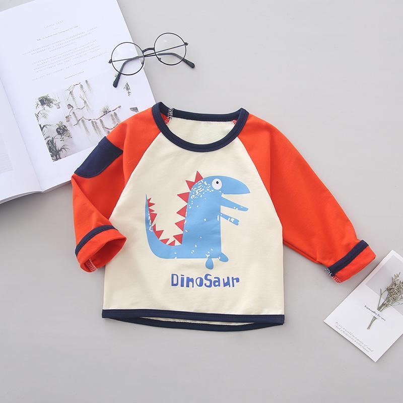 Cartoon Pattern Sweatshirt for Toddler Boy