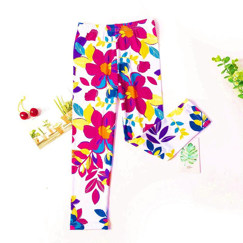 Floral Boot Pants for Toddler Girl