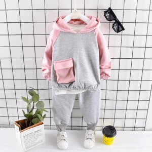 2-piece Hoodie & Pants for Toddler Girl