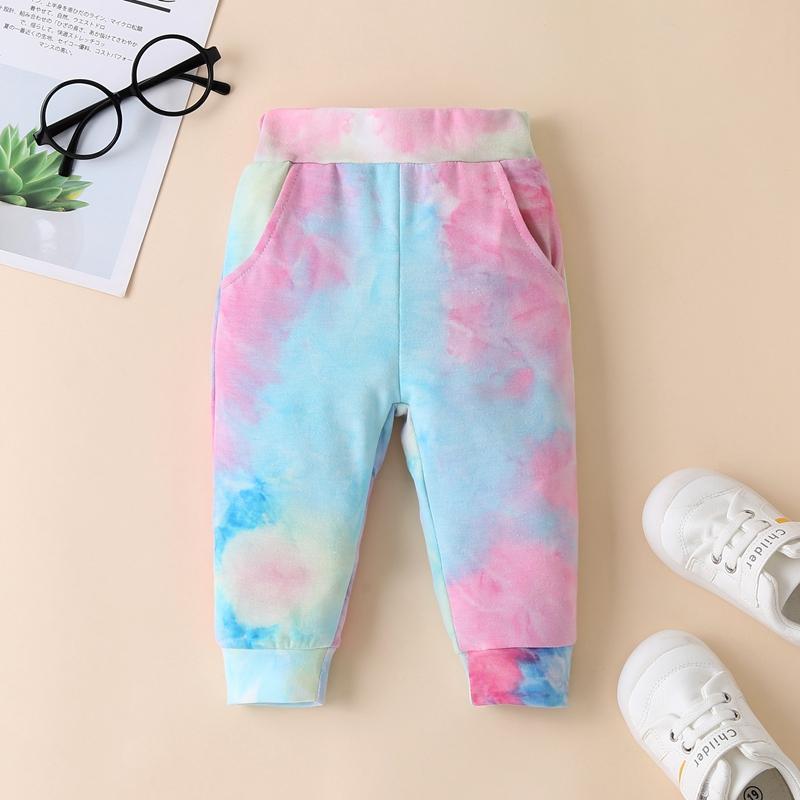 2-piece Tie dye Hoodie & Pants for Baby