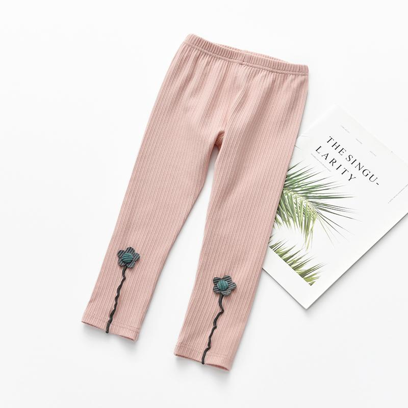Three-dimensional Flower Boot Pants for Toddler Girl