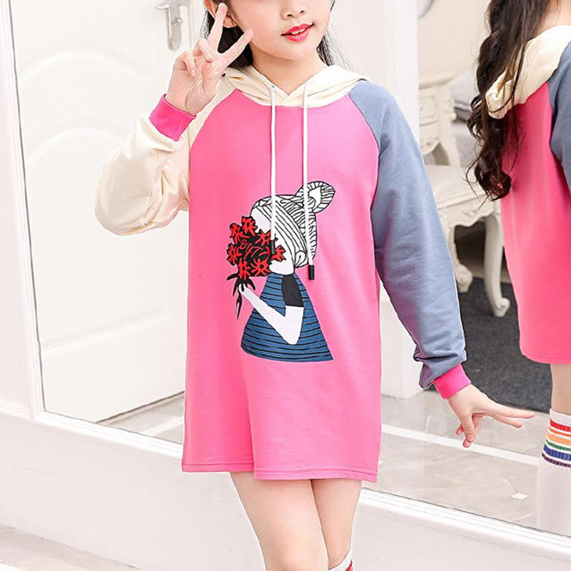 Color-block Hoodie for Girl