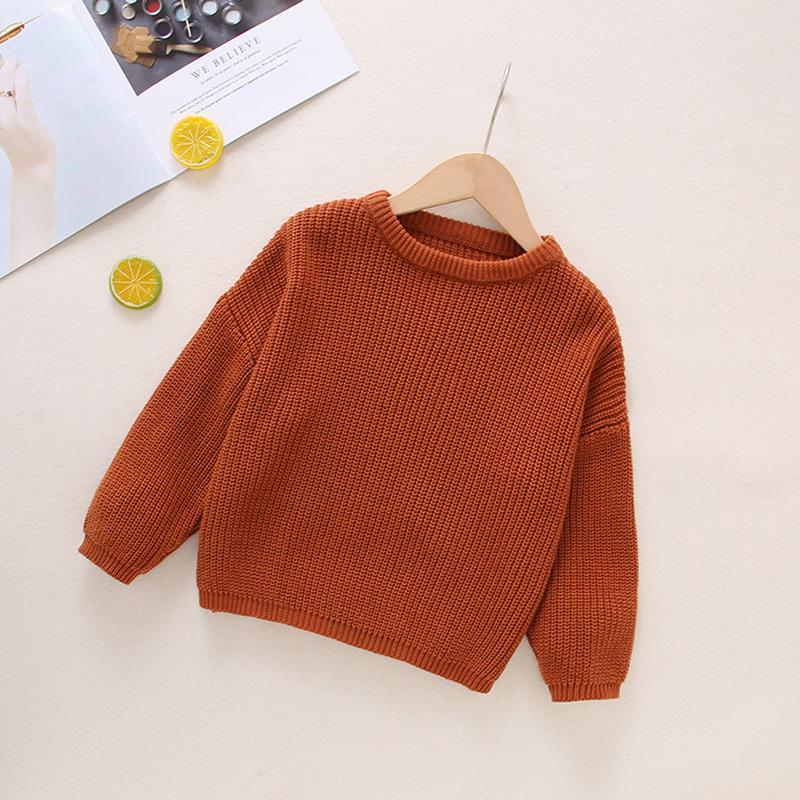 Knitted Sweater for Toddler