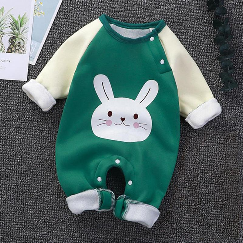 Rabbit Pattern Jumpsuit for Baby