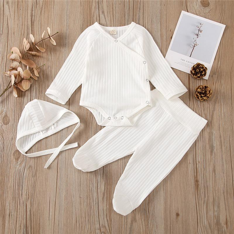 3-piece Romper & Hat & Pants for Baby