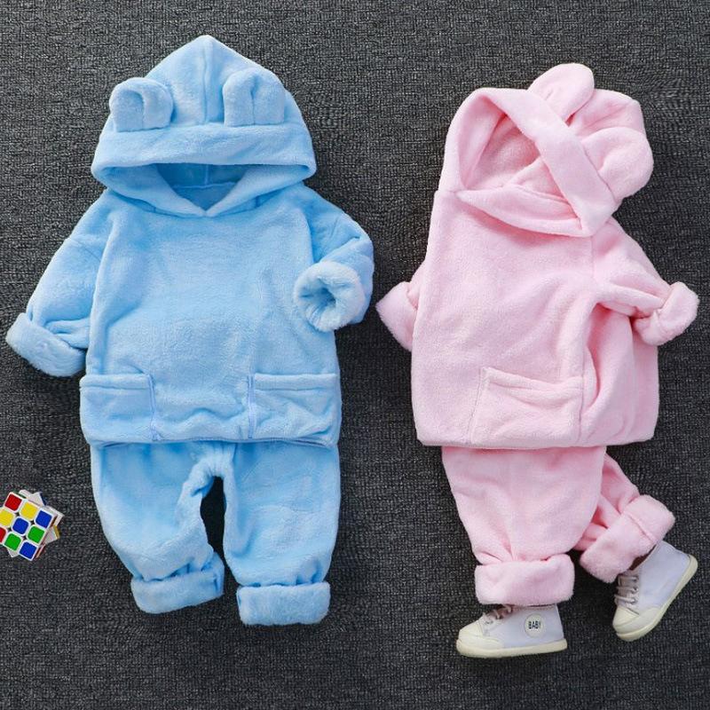 2-piece Fleece Hoodie & Pants for Toddler Girl